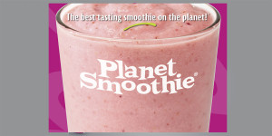Planet Smoothie Branded Tent Wall